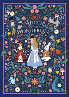 Alice in WonderlandYou can find illustrations posters and more on our website.Alice in Wonderland Girl Illustration Art, Illustration Design Graphique, Rabbit Illustration, Happy Birthday Illustration, Fantasy Illustration, Digital Illustration, Disney Kunst, Disney Art, Book Cover Art