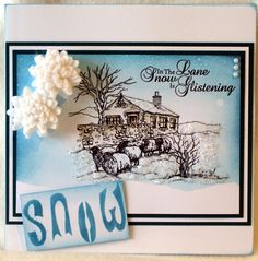 Sheena Douglass – Crafts, Papercrafting, Stamps, Create & Craft » Winter Sketchies Sheena Douglass, Frantic Stamper, Crafters Companion, Create And Craft, Christmas Cards, Card Making, Paper Crafts, Stamps, Frame