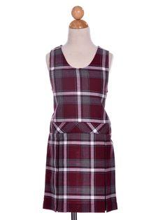 Girl's Uniform Plaid Checkered Jumper - School Uniforms
