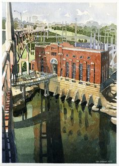 Iain Stewart Watercolors: National Watercolor Society 91st Annual Exhibition