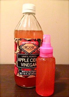 Get Naturally Shiny Hair with an Apple Cider Vinegar Rinse. Don't know if I could do this bc I hate the smell of it!