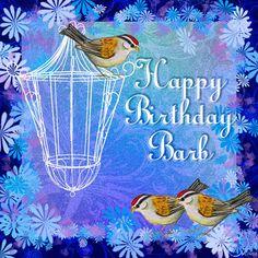 Barb  Happy Birthday Card