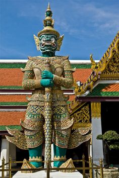 Pictures From Thailand | Thailand: Temple Guardian - Photograph at alleephotography.com