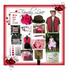 """""""Family Love"""" by strong-gallery ❤ liked on Polyvore featuring vintage"""