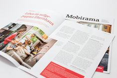 Mobirama, das Kundenmagazin der Mobiliar. Wir sind stolz, seit über 10 Jahren das Kundenmagazin der Mobiliar umzusetzen. Jede Ausgabe ist ein Unikat - geschaffen aus Leidenschaft für unseren Beruf und unseren Kunden. #lovemyjob #lovegraphicdesign #wavelucerne #wave #mobiliar