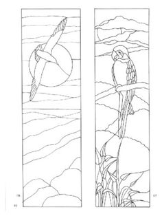 page68Dover's door stained glass patterns