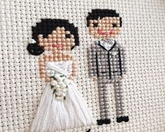 Thrilling Designing Your Own Cross Stitch Embroidery Patterns Ideas. Exhilarating Designing Your Own Cross Stitch Embroidery Patterns Ideas. Cross Stitch Family, Mini Cross Stitch, Cross Stitch Cards, Cross Stitching, Cross Stitch Embroidery, Embroidery Patterns, Hand Embroidery, Cat Cross Stitches, Wedding Cross Stitch Patterns