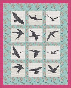 In Flight Quilt Along - starting January 2015 at The Tartankiwi