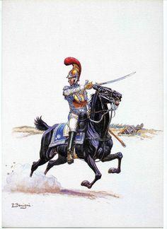 Les cavaliers de la Grande Armée :: Illustrations Carabiniers