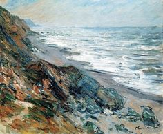 Claude Monet (1840-1926) ~ Marine,1882.