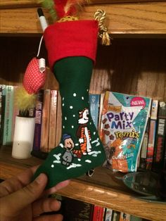 Hobbes gets a Calvin and Hobbes stocking