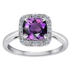 oh my gorge! but in sapphire please! Classic Cushions, Amethyst, Sapphire, Crowns, Bling Bling, Frost, Heart Ring, Fashion Jewelry, Gems