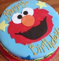 Elmo birthday cake at NashvilleSweets.com