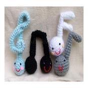 Crochet Pattern - Note.. I love music - via @Craftsy