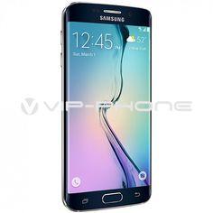 Samsung Galaxy S6 Edge G925F 32GB Fekete kártyafüggetlen mobiltelefon gyártói garanciás