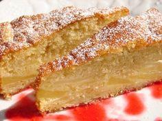 Biscuit fondant aux pommes
