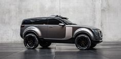 Russian Sergey Kon'kov, a graduate student at the Munich University of Applied Sciences, decided to design the ultimate off-road vehicle for his graduate thesis project and the result is the Qoros 8.