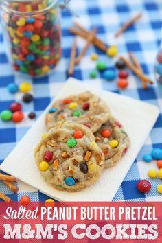 Salted Peanut Butter Pretzel M