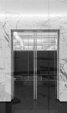 Saint Laurent store architecture by Hedi Slimane _