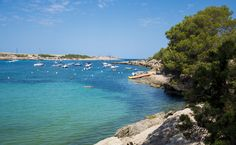 Port D'es Torrent Who Goes There, Ibiza Beach, Turquoise Water, West Coast, Sun Lounger, Beaches, Caribbean, Natural Beauty, Chock Full