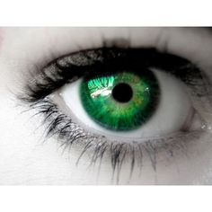 Top 10 Traits of People Having Green Eyes ❤ liked on Polyvore featuring beauty products, eyes, pictures, green eyes and makeup