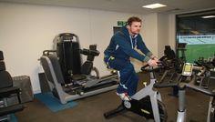 Technogym training machines at Warwickshire County Cricket Club #itrainwithtechnogym