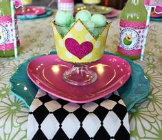 Princess and the Pea Dessert Cups