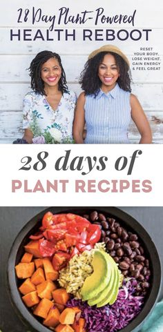 28 Day Plant Powered Health Reboot Cookbook – Nutrition And Diet Healthy Food Choices, Healthy Eating Tips, Vegetarian Lunch, Vegetarian Recipes, Food Heaven Made Easy, Real Food Recipes, Delicious Recipes, Vegan Challenge, Nutrition Articles