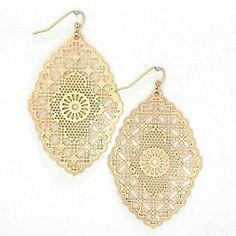 Filigree Sunstar Earrings