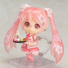 """ohnoraptors: """" ねんどろいど 桜ミク Bloomed in Japan """" This product will be made at Good Smile Company's 'Lucky Factory', which was completed on the 5th December 2014. The product will be proudly 'Made in..."""