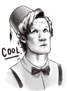 The Doctor and his Fez By-Fizzypopgoulash@deviantart