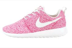 new styles a8567 a1485 Over Half Off Nike Roshe Run Speckled Pink Speckle Nike Free Run, Nike  Jogging,