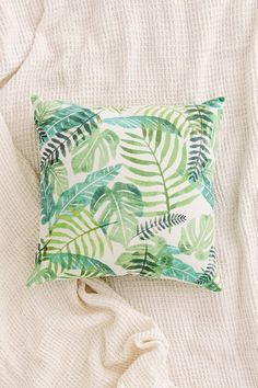 Assembly Home Printed Palms Pillow #pinspiration