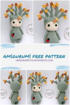 Doll Patterns Free, Crochet Toys Patterns, Amigurumi Patterns, Stuffed Toys Patterns, Free Pattern, Knitting Patterns, Crochet Amigurumi, Crochet Dolls, Knitted Dolls Free