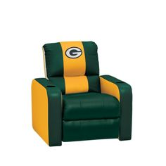 green bay packers chair bosuns 25 best images dreamseat recliner another piece of furniture for the future bar entertainment