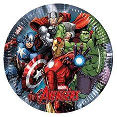 Yenilmezler & Avengers Parti Tabak, doğum günü hazırlıkları