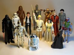 Vintage Star Wars - I still have every one of these figures in a case with their complete accessories, as shown.