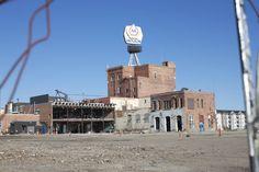 Partially Demolished Molson Brewery, Edmonton, AB