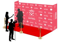 red carpert theme party | Sweet 16 Hollywood Theme Red Carpet Birthday Party