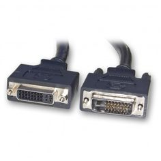 Black NEW Brands NEW DVI-D Single Link Male-Male Cable Asstd 5 to 6 feet
