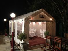 Beautiful pic of a Gala Tent being used for a Garden Party. Marquees are a fantastic option and look wonderful!