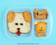 Puppy Dog Bento Lunch