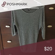 Express Shimmer Sweater Has shimmer in the fabric Sweaters Crew & Scoop Necks