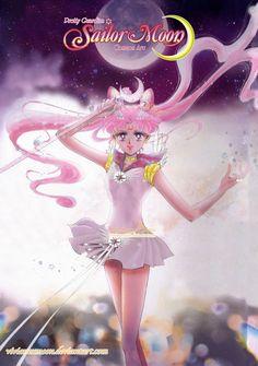 sailor cosmos chibi moon