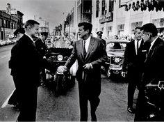September 24th, 1963, President Kennedy visited Duluth, Minnesota. (V)