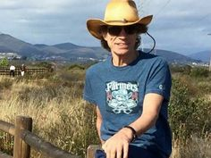 Mick Jagger (Rolling Stones) in the San Diego  backcountry May 24, 2015