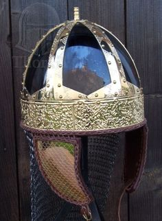 Replica of Spangenhelm from Chalon by the Saône River