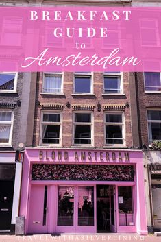 12 magical breakfast places in Amsterdam - travel with a silver lining . - 12 magical breakfasts in Amsterdam – travel with a silver lining Amsterdam Travel Guide, Amsterdam Food, Visit Amsterdam, Amsterdam Netherlands, Amsterdam Breakfast, Amsterdam Things To Do In, Amsterdam Winter, Good Breakfast Places, Best Breakfast