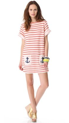 I think I need this nautical dress for summer!