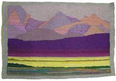 Alberta tapestry weaving, Liv Pedersen